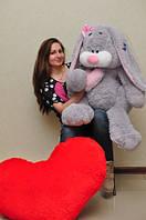 Большой зайка 120 см.Мягкая игрушка зайка.Игрушка кролик.