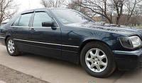 Дефлектор окон Mercedes S-klasse W-140 1991-1998