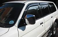 Дефлектор окон Mitsubishi Pajero Sport 1996-2009