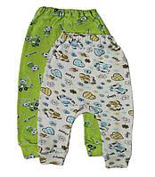 Ползунки штанишки для новорожденных интерлок