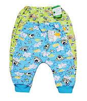 Ползунки штанишки для новорожденных футер