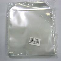 Конверт пластиковый(прозрачный,полипропилен) 60mg для CD;DVD (в уп.100шт)