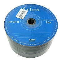 Диск Artex  4.7Gb  - 16x  (bulk 50)   DVD+R