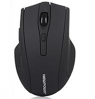 [ Беспроводная мышка Newpower 2,4 ГГц ] Оптическая USB мышь для ПК черная