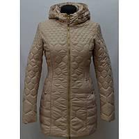 Качественная женская куртка удлиненная с поясом-резинкой в расцветках