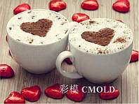 """Вышивка алмазная """"Любовь начинается с чашечки кофе"""""""