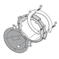 """Крепление сумок на бак GIVI Tanklock для R1200 R """"11-12"""