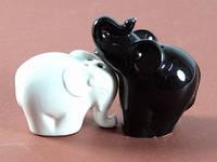 Набор солонка и перечница Слоны