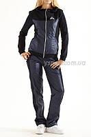 Женский Спортивный костюм  1083 черный