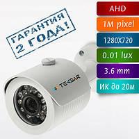 Видеокамера AHD уличная Tecsar AHDW-1M-20F-eco, фото 1