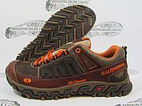 Кроссовки мужские Salomon 3D, коричневые