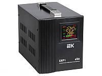 Стабилизатор напряжения СНР1-0- 5 кВА  электронный переносной IEK