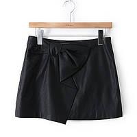 Короткая юбка с бантом