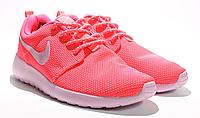 Кроссовки Nike Roshe Run, сетка, розовые, Р. 39 40