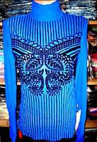 Гольф - сетка синяя размер 40,42