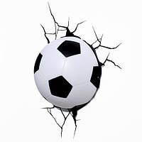 Настенный 3D светильник Футбольный мяч Deco Light