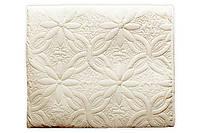Демисезонное одеяло из микрофибры Молочное