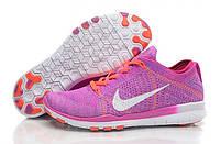 Женские кроссовки Nike Free Run Flyknit 5.0, фиолетовые Р. 36 40
