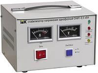 Стабилизатор напряжения СНИ1- 1,5 кВА электромеханический однофазный IEK