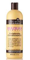 Органический кондиционер для волос с эффектом выпрямления Brazilian Keratin Straightening Conditioner, USA