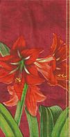 """Салфетки для декупажа """"Красные цветы"""""""