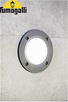 Встраиваемый светильник IP66 для подсветки лестниц, стен Fumagalli Leti-2C1 Ø134
