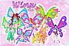 "Вафельные картинки ""Winx Club 2"" А4 (код 01948)"