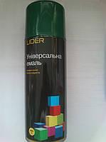 Аэрозольная краска Lider Ral 6005 (Темно-Зеленый) 400мл