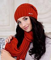 Зимний комплект «Аврора» (шапка и шарф)