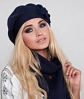 Зимний комплект «Жасмин» (берет и шарф)