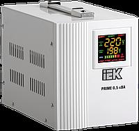 Стабилизатор напряжения переносной Prime  0,5 кВА IEK