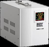Стабилизатор напряжения переносной Prime  1,5 кВА IEK
