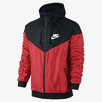 Мужская ветровка Nike Windrunner Red