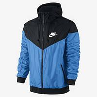 Мужская ветровка Nike Windrunner Blue