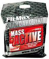 Гейнеры Fitmax Mass active 20 5000 г  ваниль