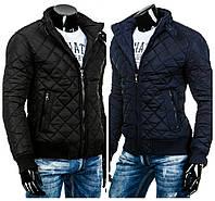 Мужская стеганая молодежная курточка осенняя