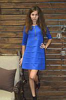 Женское платье из фактурного трикотажа, фото 1