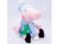 """Мягкая игрушка Свинка """"Джордж"""" 1 в шапке"""