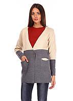 Женский кардиган с накладными карманами, фото 1