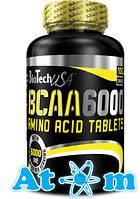 BCAA - BCAA 6000 - BioTech - 100 таб
