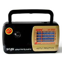Радиоприемник переносной KIPO KB-408 АC аналоговый тюнер AM/SW/FM есть функция точной подстройки