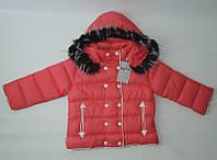 Куртка зимняя на девочку (3-6) лет