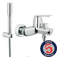 Смеситель для ванны GROHE Eurosmart Cosmopolitan 32832000,кран для ванны с душевым набором