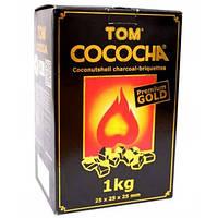 Уголь для кальяна Tom Cococha Gold 1 кг, без упаковки
