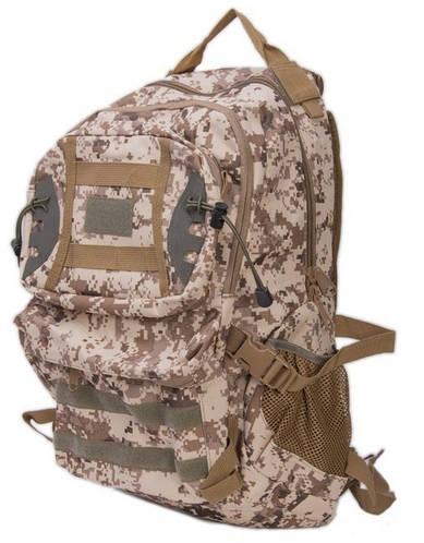 Многофункциональный туристический рюкзак 37 л. Innturt Small A1005-1 camouflage бежевый