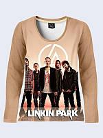 Женский  Лонгслив Linkin Park участники