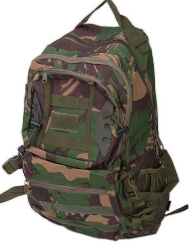 Многофункциональный туристический рюкзак 37 л. Innturt Small A1005-3 camouflage зеленый