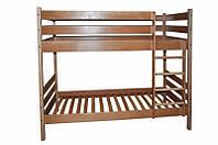 Кровать двухэтажная для двух детей трансформер из бука