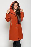 Пальто кашемировое с капюшоном Letta П-009 (6 цветов, р.46-52)