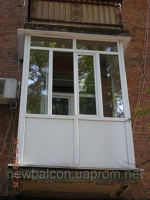 Окна пластиковые днепропетровск остекление балкона, лоджии п.